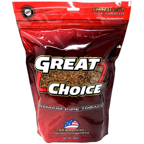 Great Choice Pipe Tobacco Red 16oz