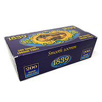 1839 Smooth 100 Cigarette Tubes 200ct