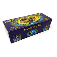1839 Smooth King Size Cigarette Tubes 200ct