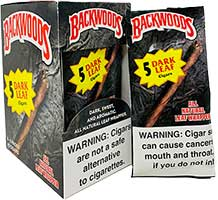 Backwoods Cigars Dark Leaf 8 5CT
