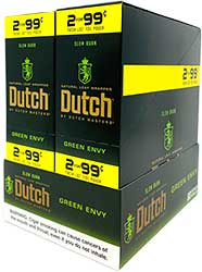 Dutch Cigarillos Green Envy