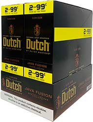 Dutch Cigarillos Java Fusion