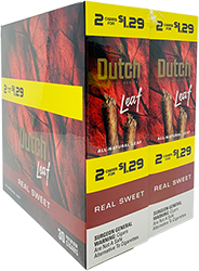 Dutch Leaf Real Sweet 30 Packs of 2