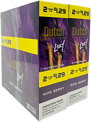 Dutch Leaf Ripe Berry 30 Packs of 2