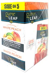 Game Leaf White Peach 8 5pks