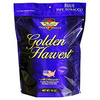 Golden Harvest Pipe Tobacco Blue 16 oz