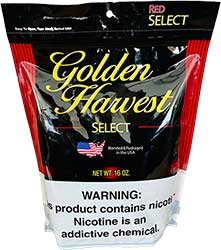 Golden Harvest Select Pipe Tobacco Red 16 oz