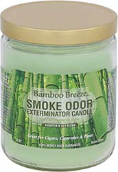 Smoke Odor Exterminator Candle Bamboo Breeze