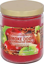 Smoke Odor Exterminator Candle Cinnamon Apple