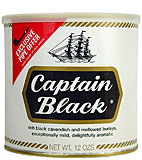 Captain Black Pipe Tobacco Original 12oz Can