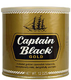 Captain Black Pipe Tobacco Gold 12oz Can