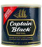 Captain Black Pipe Tobacco Royal Blue 12oz Can