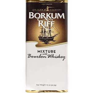 Borkum Riff Bourbon Whiskey Pipe Tobacco 5CT