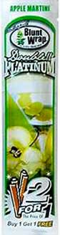Double Platinum Cigarillos Apple Martini 15 2pks